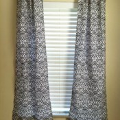 Easy DIY Curtains
