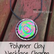 Polymer Clay Necklace Charm