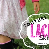 Couture Lace Skirt Tutorial