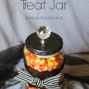 Halloween DIY Treat Jar
