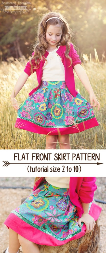 Flat-front-skirt-tutorial2