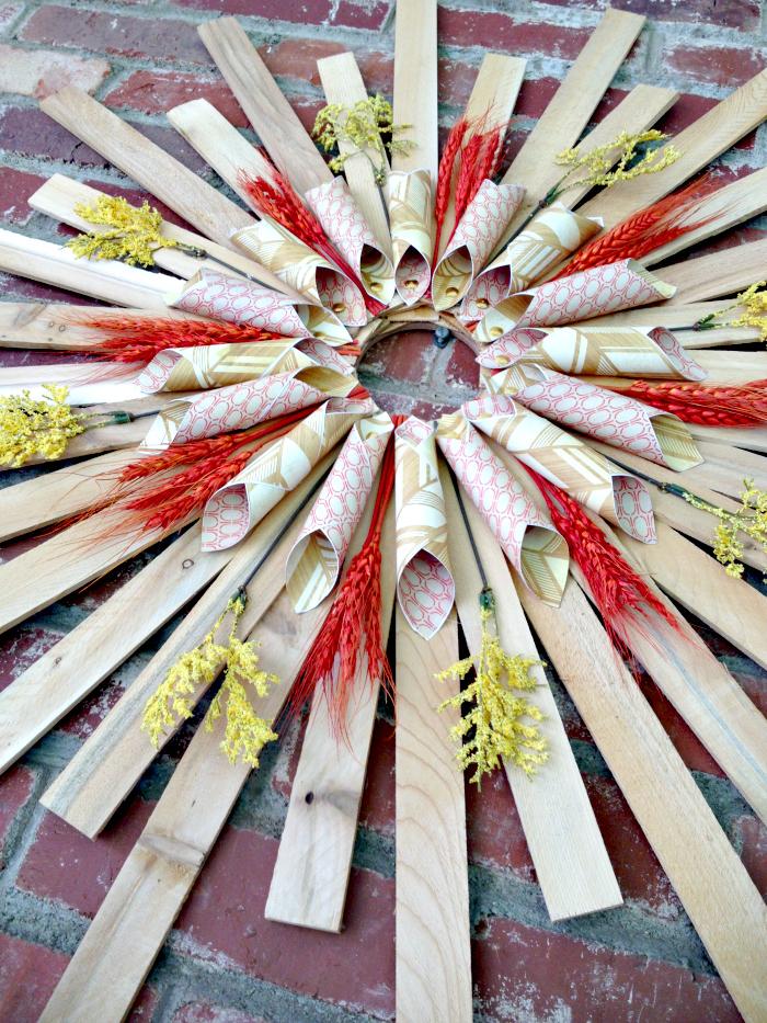 Sunburst-Wreath