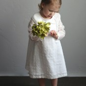 Norah Dress Upcycle (from a Sheet)