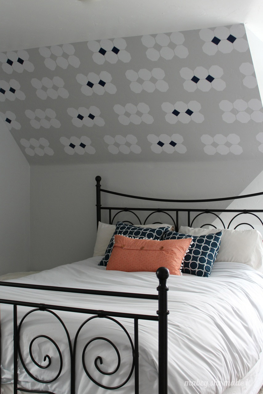 17 Sloped Ceiling Bedroom Design Ideas • Mabey She Made It