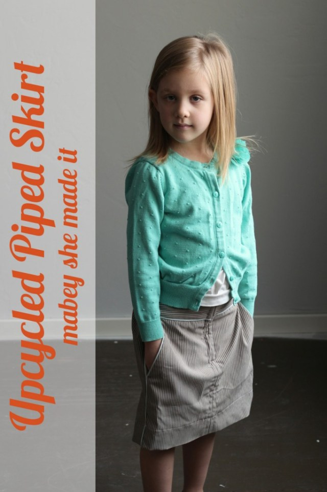 Piped Skirt Feature