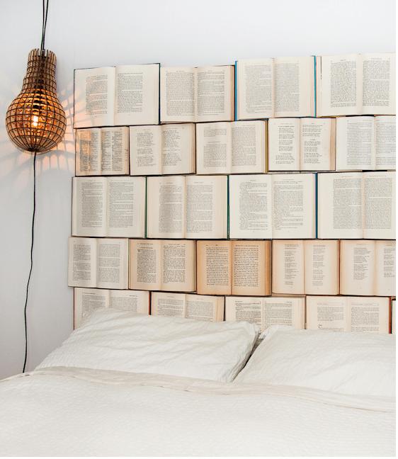 DIY Book Headboard • Design Every Day