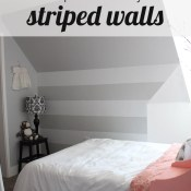 Striped Walls the Easy Way