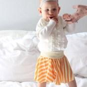 Simple Circle Skirt Tutorial & Cheat Sheet