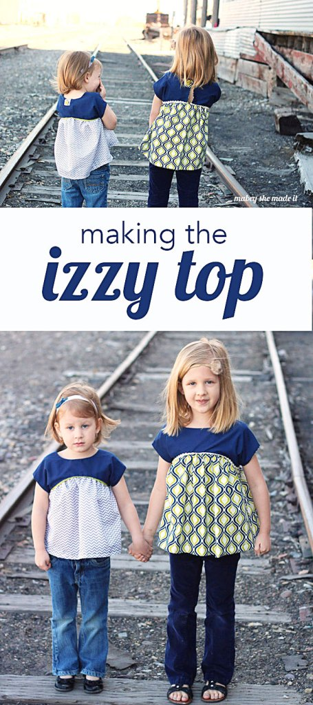 Pattern review for the free Izzy Top