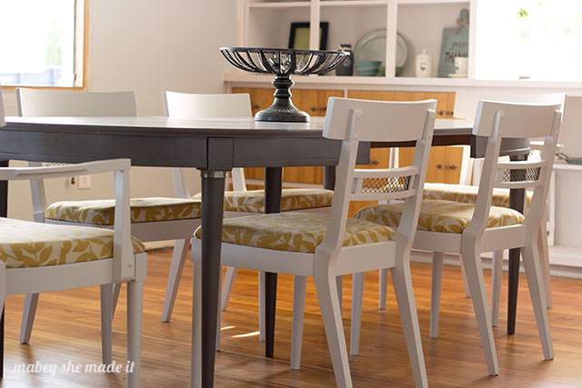 Updated Bernhardt Dining Table and Chairs