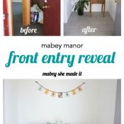 Mabey Manor: Front Entry Reveal