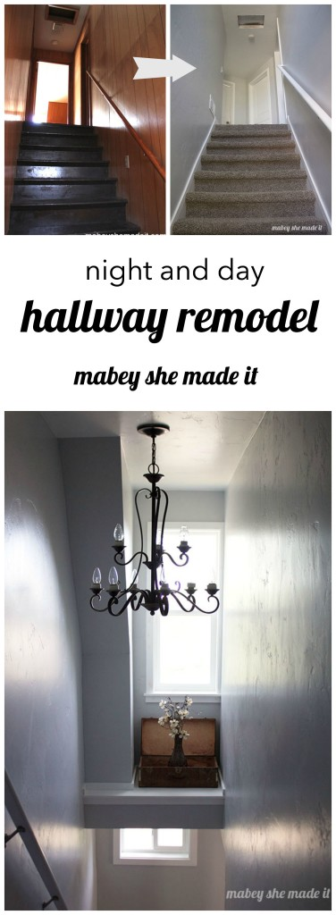 Mabey Manor Hallway Reveal