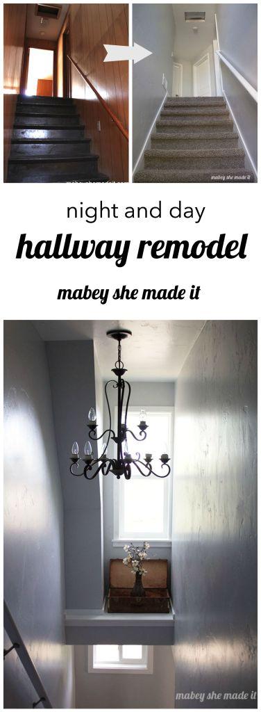 Mabey Manor Hallway Reveal