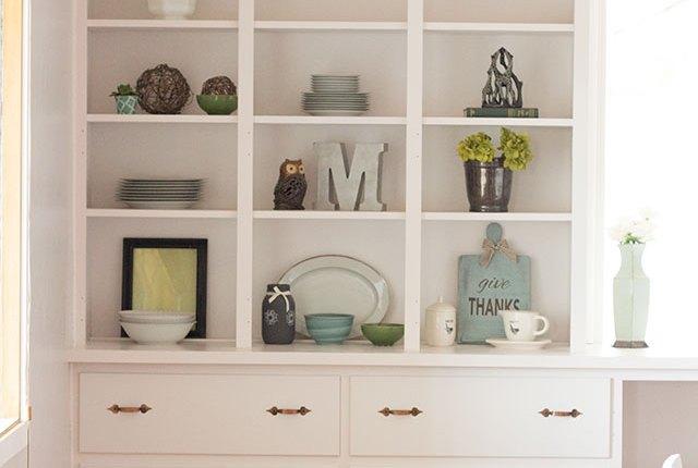 Built-in Bookshelf Refinish