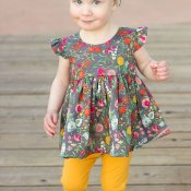 FREE Flutterby Top Pattern & Tutorial
