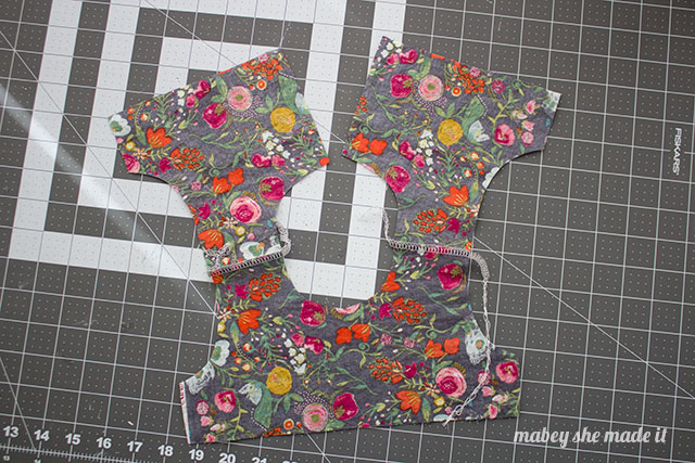 Flutterby Top Pattern and Tutorial at Mabey She Made It. A free sewing pattern for little girls.