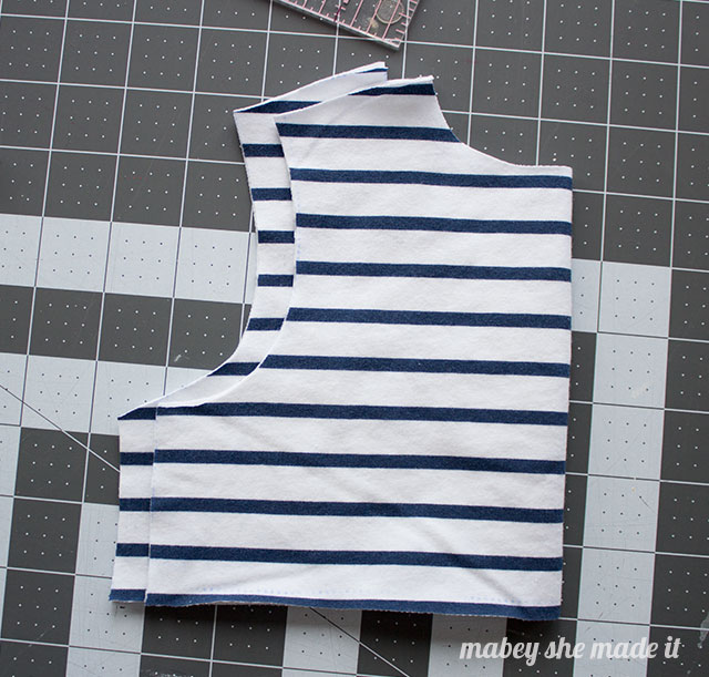 How to match stripes when sewing.Matching stripes is easy and effective.