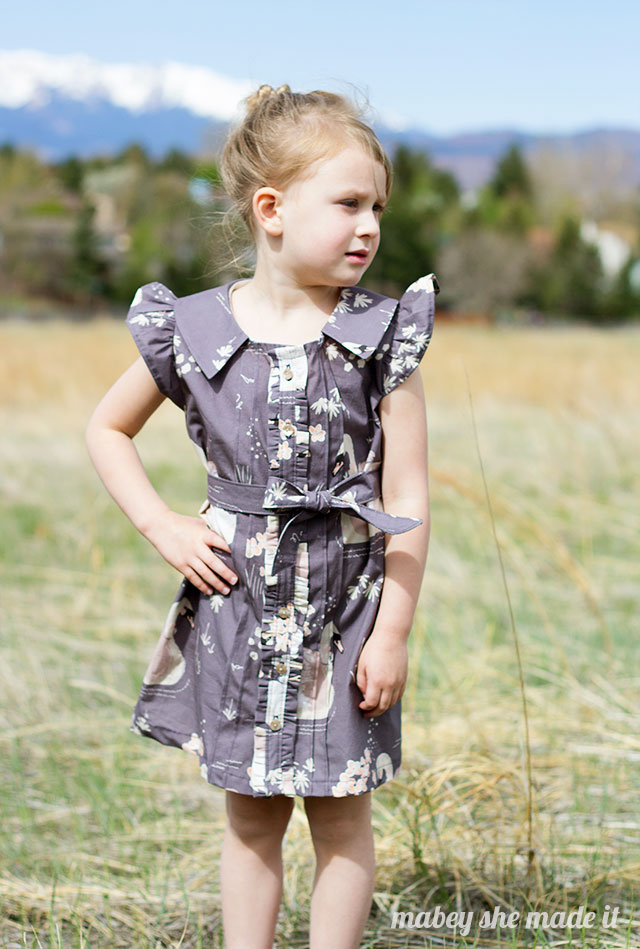 Hello Ollie Blog Tour. Dress by Mabey She Made It