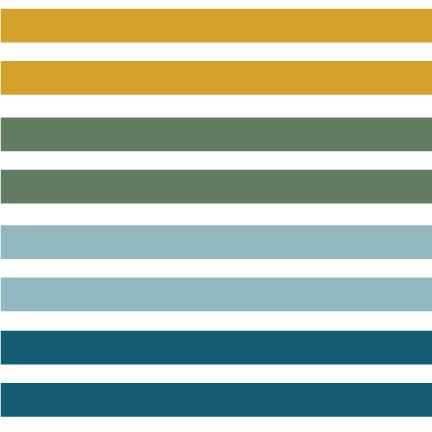 Teal Double Stripe available at Raspberry Creek Fabrics