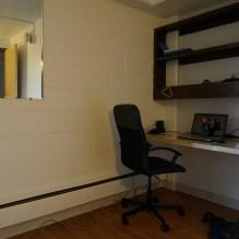 Mon coin bureau dans la chambre