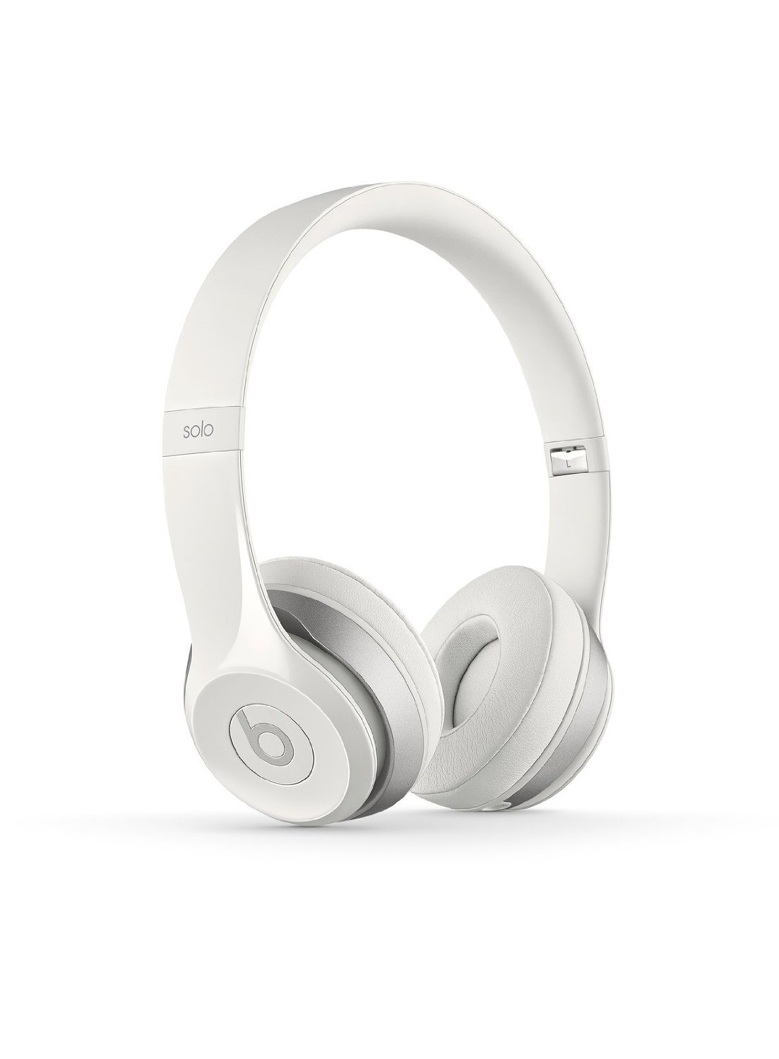 Beats Solo2 Wired On Ear Headphones White Mac Ave