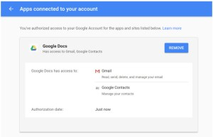Beware of an Invitation to Google Docs