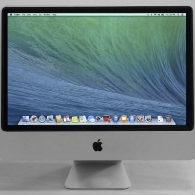 Used: iMac (20-inch Mid 2007), 2.0 GHz C2D, 3 GB, 250 GB, 10.9.5  MA876LL/A