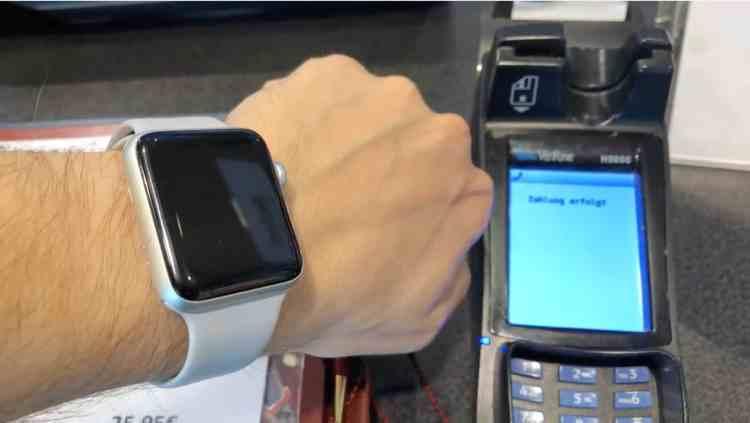 """Apple Pay im Einsatz: """"Ba-Bing"""" … Zahlung erfolgt"""