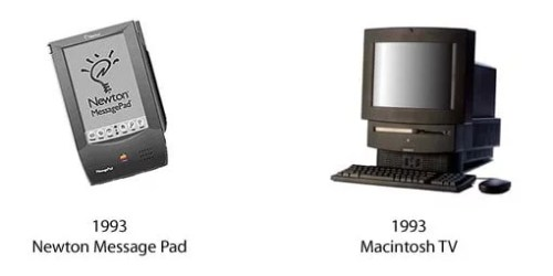 Newton Message Pad und Macintosh TV