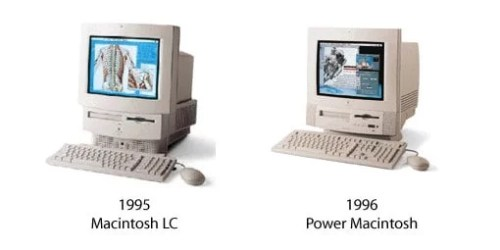 Macintosh LC 580 und Power Macintosh