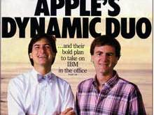 Steve Jobs and John Sculley on the Cover of Business Week (Nov. 1984)