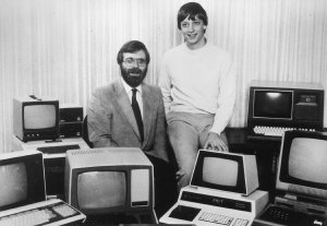 Bill Gates und Paul Allen (1981)