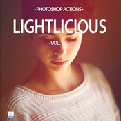 Creativemarket 20 Lightlicious Photoshop Actions 137507 icon