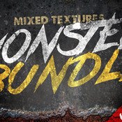 Creativemarket 64percent Off Mixed Texture Monster Bundle 72579 icon
