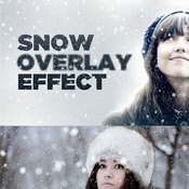 Creativemarket Snowy Day Overlay Effect 132058 icon icon