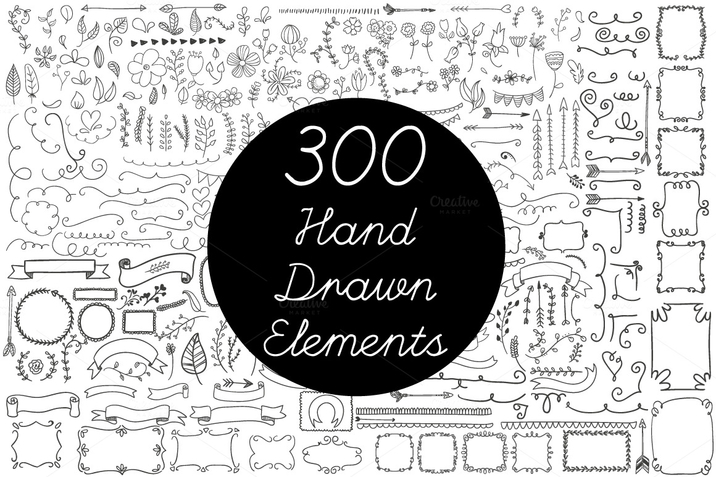 Creativemarket_Vector_Hand_Drawn_Elements_Vol2_128946_cap01