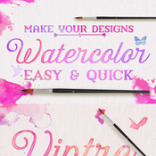 Creativemarket Watercolor Make it Quick and Easy 87110 icon