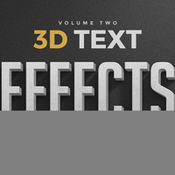 Creativemarket 3D Text Effects Vol2 261785 icon