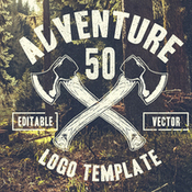 Creativemarket 50 Retro Adventure Logo 152201 icon
