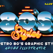 Creativemarket 80s Retro Graphic Styles 213806 icon