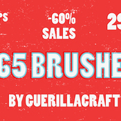Creativemarket 865 Brushes60percent SALES 220664 icon