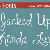 Creativemarket DJB Jacked Up Kinda Luv Font 224179 icon