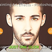 Creativemarket HDR Painting Art Effects Photoshop 228257 icon