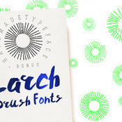 Creativemarket Larch Brush Font 218997 icon
