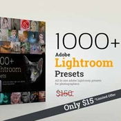 Creativemarket 1000 Lightroom Presets Bundle 317985 icon