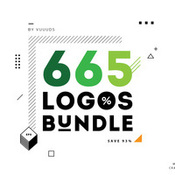 665 logos bundle by vuuuds shailab icon