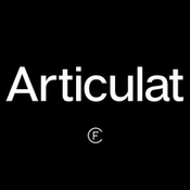 Articulat cf font family 396585 icon