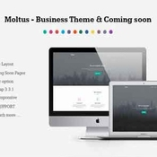 Creativemarket moltus onepage coming pages 181976 icon