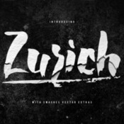 Creativemarket zurich brush font 352616 icon