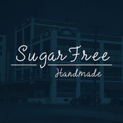 Sugarfree handmade typeface 83619 icon